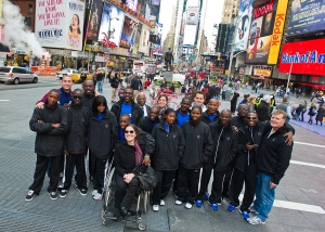 Team Zaryen in Times Square